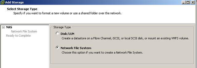 Add Network File System