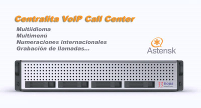 Centralita VoIP Call Center 33HOPS