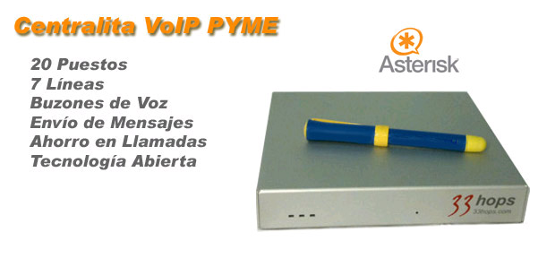 centralita voip pyme